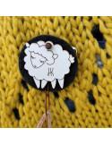Broche Hilokune para tejer al estilo portugués