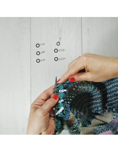 Marcadores Abreviaturas Knitting...